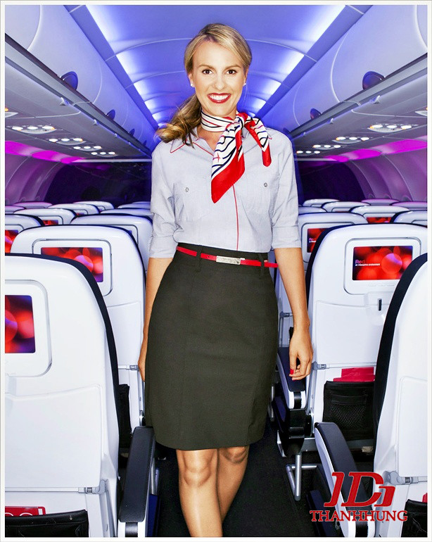 Đồng phục tiếp viên hàng không các nước, hãng ĐẸP nhất 10