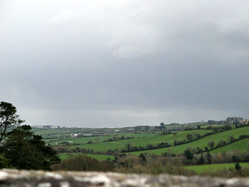 ireland overcast blarney blarneycastle countycork céusky viewfromthetopofthecastle picmonkey:app=editor
