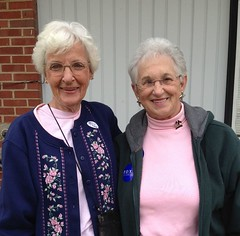 Virginia Foxx and Mrs. Long