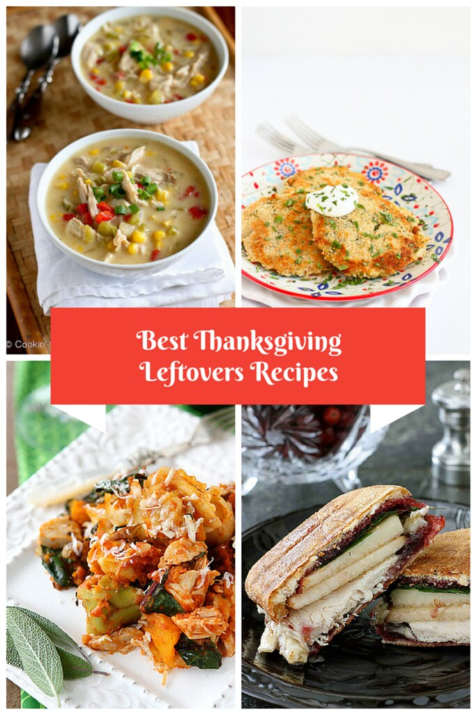 My Best Thanksgiving Leftover Recipes...5 fantastic ways to use up those leftovers! | cookincanuck.com #turkey