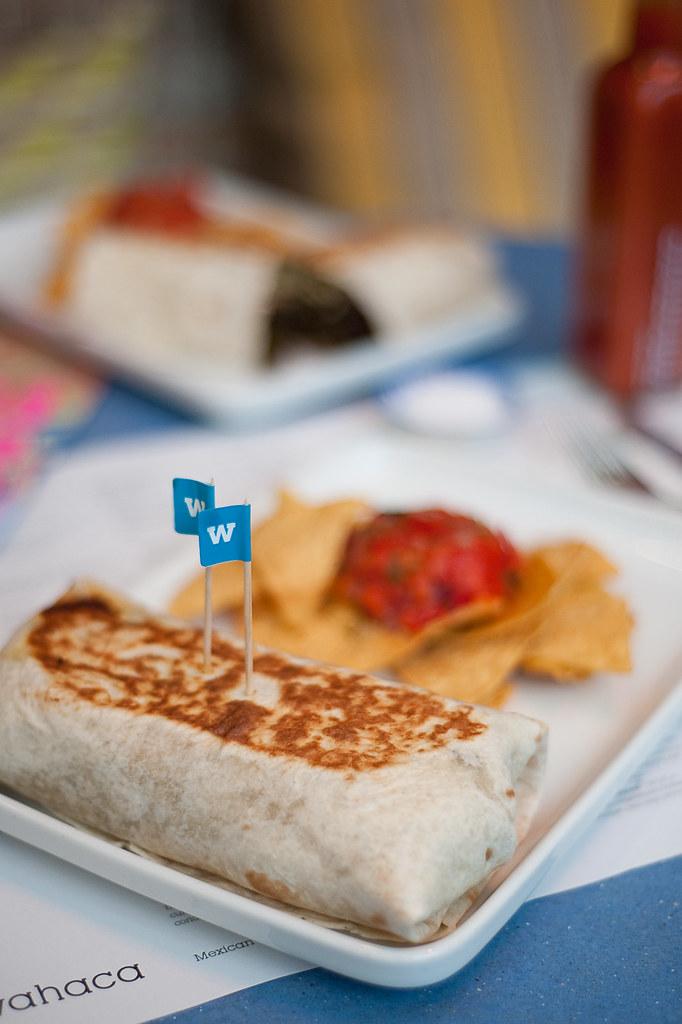 Photo of a Wahaca Burrito
