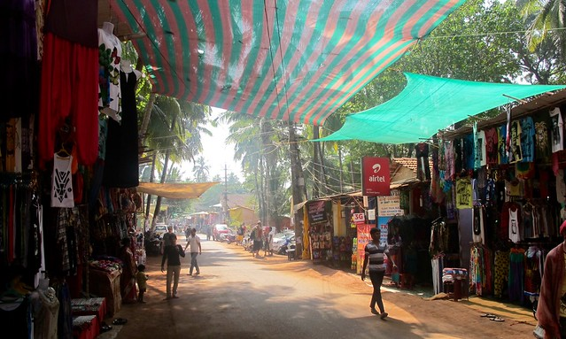India - Arambol town market