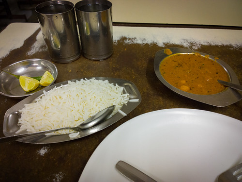 Chana Masara with Rice @ Civil Restaurant @ Mumbai