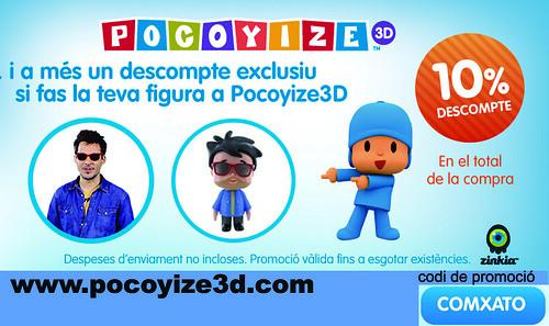 Ruta del Xat� promoci� Pocoyize3d Comansi