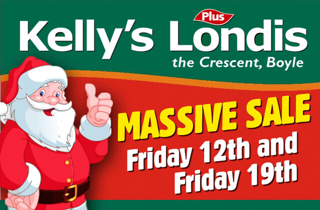 Christmas Sale, Kelly's Londis