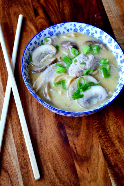 Recipe for Tom Kha Gai