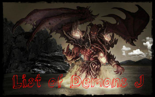 List of Demons J