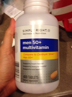 Men's 50+ vitamins. That's how we roll.