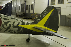 N43JE - 15344 - Nakajima Ki-43-IIIa Hayabusa Replica - Tillamook Air Museum - Tillamook, Oregon - 131025 - Steven Gray - IMG_8038