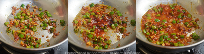 How to make chilli idli fry  - Step5