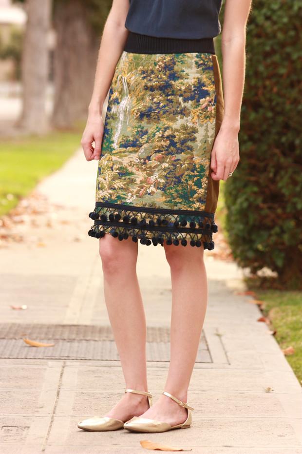 Anthropologie Skirt, Pencil Skirt