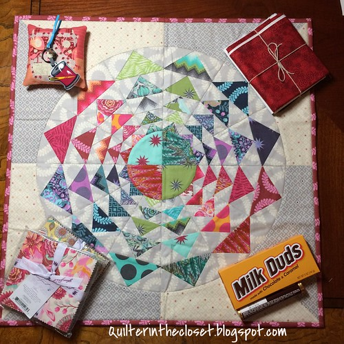 IG Mini Quilt Swap loot