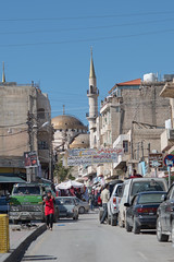 Mosque in the centre of Madaba // Trip to Jordan