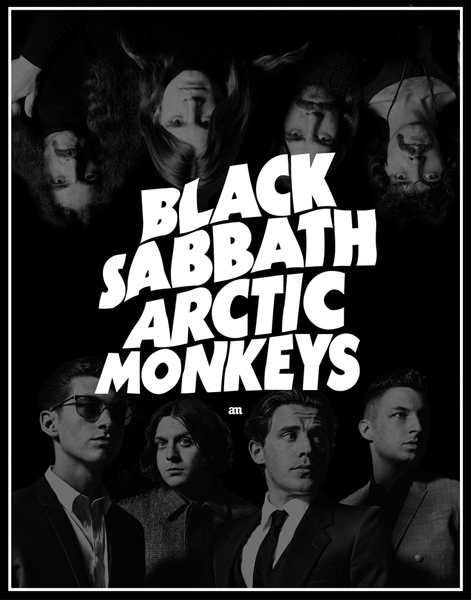 Black Sabbath Arctic Monkeys