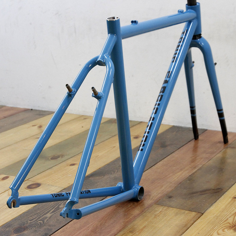 TONIC FABRICATION FRAME SET CUSTOM PAINT BY SWAMP THINGS