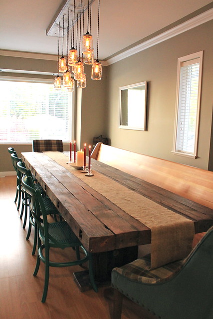 Dining Room with Pew - Nov 22 2014