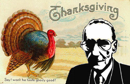 Thanksgiving Greetings from William S. Burroughs