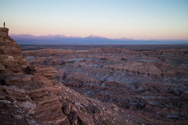 Tres Marías Lookout. Atacama Desert. Chile