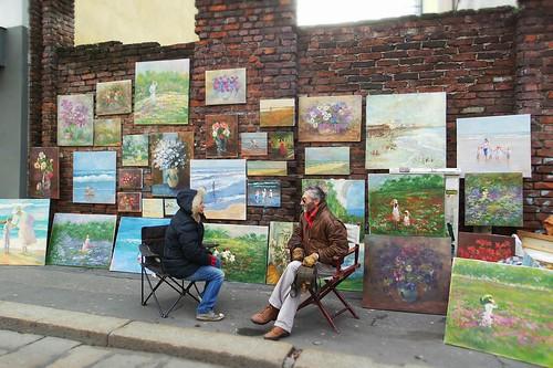 #Dipinti all'antiquariato sul Naviglio Grande