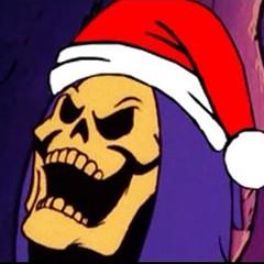 #manicmonday! #Christmas is coming and so is #Santa #Skeletor! #heman #mastersoftheuniverse #motu #dfatowel