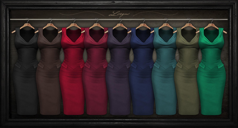 League Yve Pencil Dress Fatpack