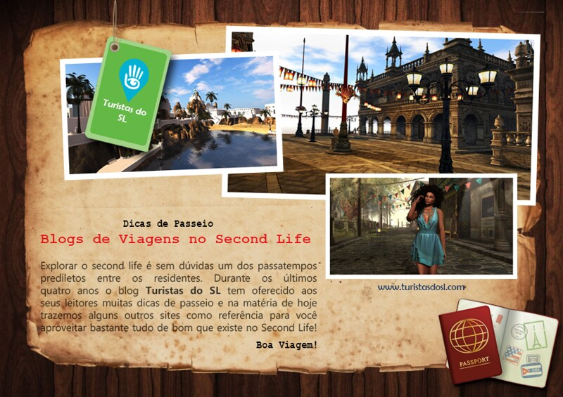 Travel Blogs - Blogs de Viagens no Second Life