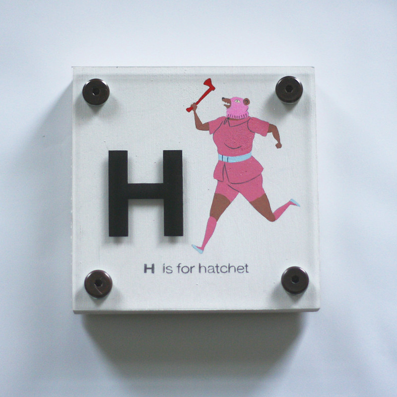 H IS FOR HATCHET