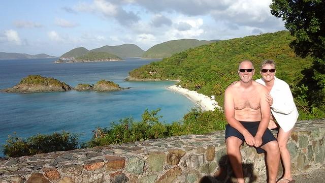 Trunk Bay overlook