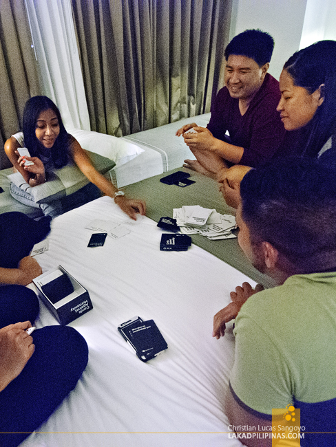 Cards Against Humanity at Seda Hotel Nuvali
