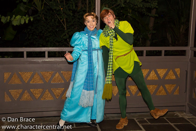 Meeting Peter Pan and Wendy Darling