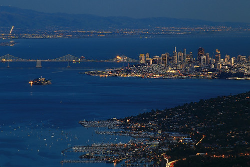 sanfrancisco california usa marin bluehour