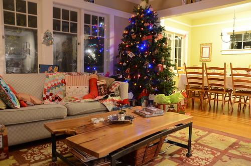 Blue Cottage Christmas 2014