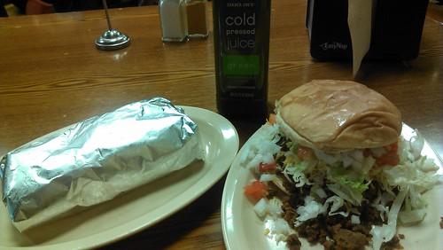Burrito & Taco Burger