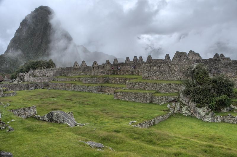 Machu Picchu Central Plaza
