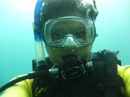 Sabang Scuba Selfie