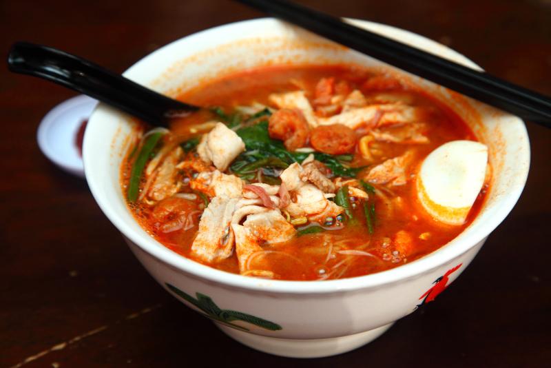 chew jetty penang Prawn-Noodles