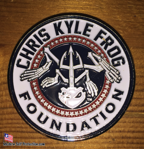 Chis Kyle Frog Foundation Logo Coin