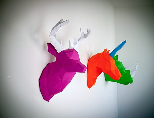 PaperTrophy Animal Wall Art