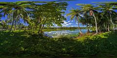 Nauru's Buada Lagoon - multimedia virtual tour in description