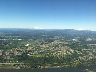 Beautiful day to fly out of PDX