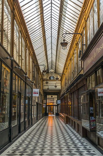 Passage Jouffroy to Passage Verdeau, Paris