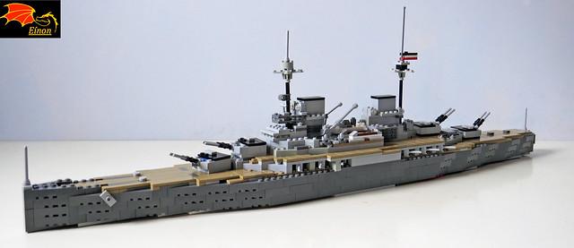 100Years ago Battle of Jutland - Battlecruiser Derfflinger