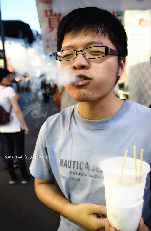 逢甲夜市美食小吃冰飲料韓國白雲餅乾19