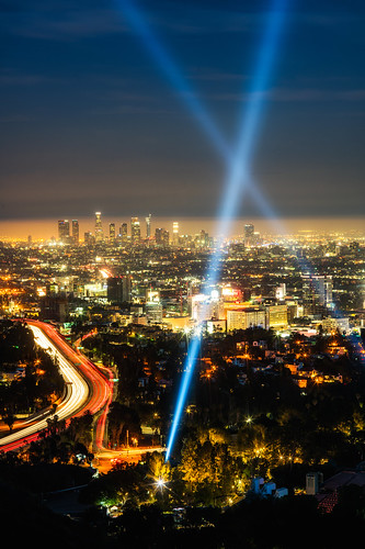 Los Angeles's Hollywood Bowl Overlook