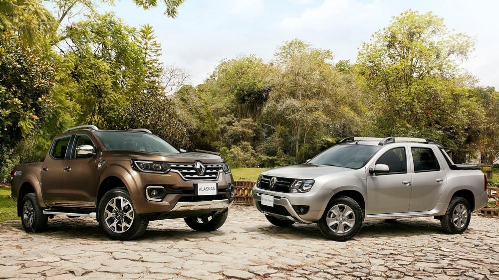 Renault Alaskan и Renault Duster Oroch