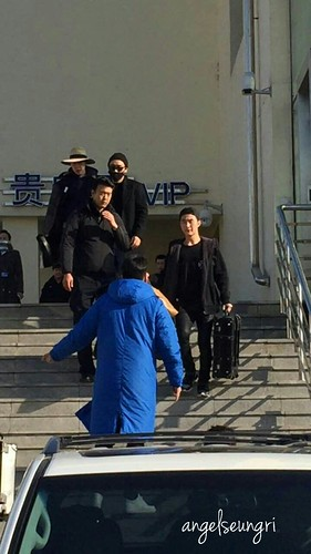 Big Bang - Harbin Airport - 21mar2015 - Seung Ri - AngelSeungRi - 02