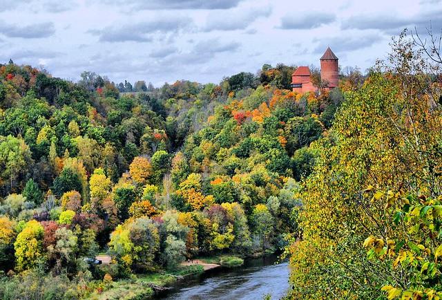 Turaida autumn - LATVIA