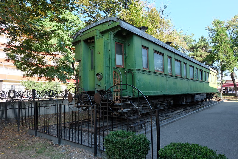 Stalin's very own train car