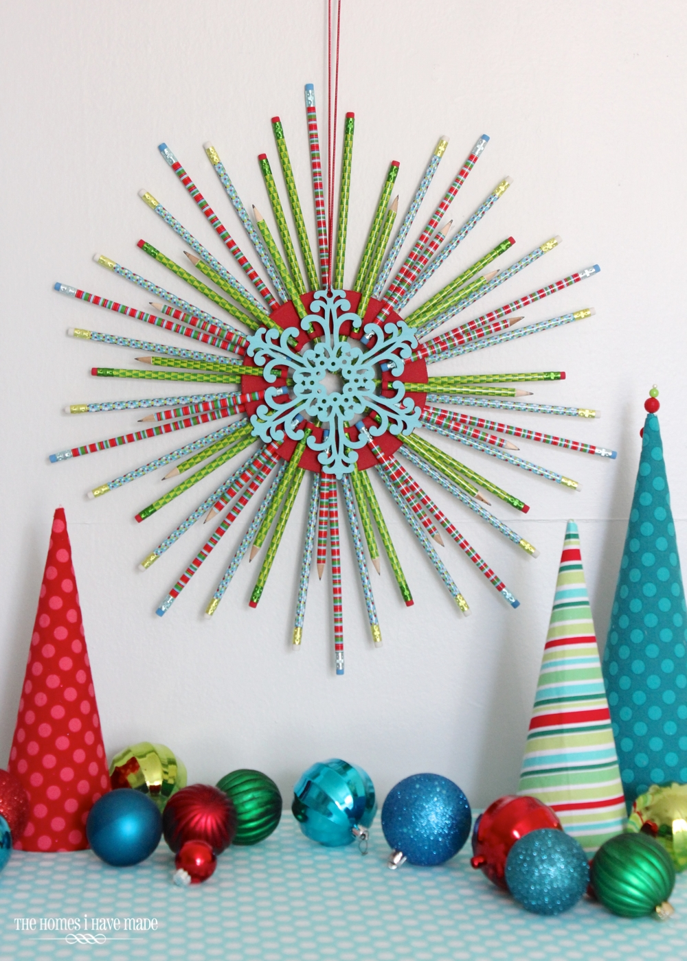 Pencil Starburst Wreath-014