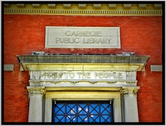 Bradford  Pa ~ Carnegie Public Library ~ Historical  ~AKA - The Beefeater's Restaurant